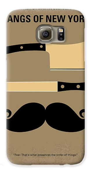Cities Galaxy S6 Case - No195 My Gangs Of New York Minimal Movie Poster by Chungkong Art