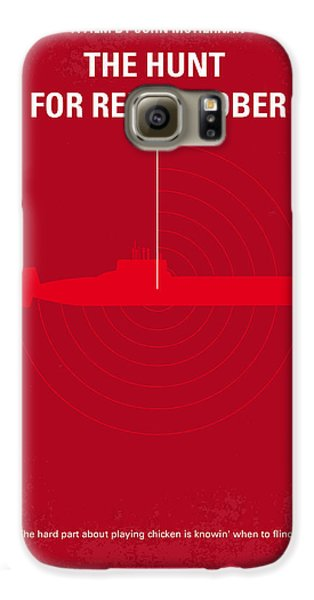 No198 My The Hunt For Red October Minimal Movie Poster Galaxy S6 Case