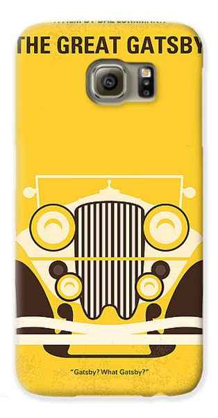 No206 My The Great Gatsby Minimal Movie Poster Galaxy S6 Case by Chungkong Art