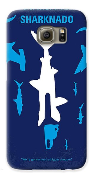 No216 My Sharknado Minimal Movie Poster Galaxy S6 Case by Chungkong Art