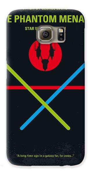 Falcon Galaxy S6 Case - No223 My Star Wars Episode I The Phantom Menace Minimal Movie Poster by Chungkong Art