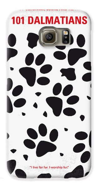No229 My 101 Dalmatians Minimal Movie Poster Galaxy S6 Case by Chungkong Art