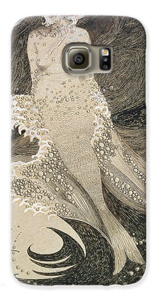 The Mermaid Galaxy S6 Case by Sidney Herbert Sime