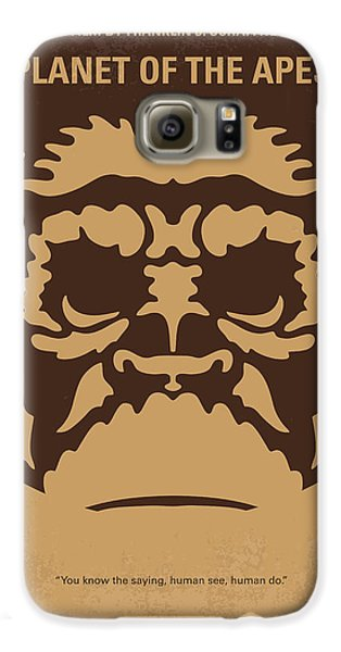 Ape Galaxy S6 Case - No270 My Planet Of The Apes Minimal Movie Poster by Chungkong Art