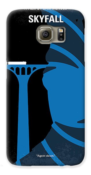 No277-007-2 My Skyfall Minimal Movie Poster Galaxy S6 Case by Chungkong Art