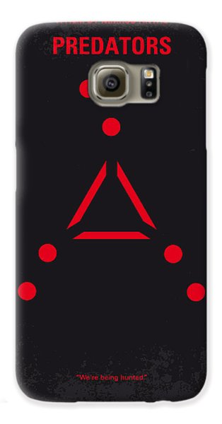 No289 My Predators Minimal Movie Poster Galaxy S6 Case