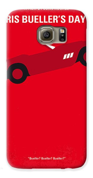 No292 My Ferris Bueller's Day Off Minimal Movie Poster Galaxy S6 Case