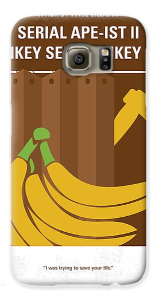 Ape Galaxy S6 Case - No356 My Serial Ape-ist Minimal Movie Poster by Chungkong Art