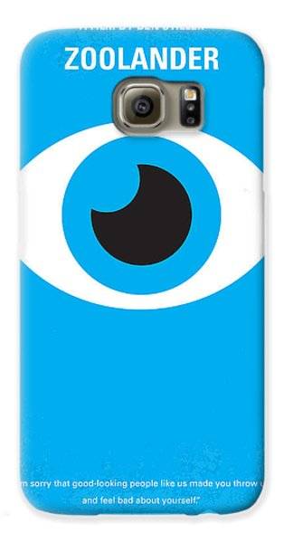 No362 My Zoolander Minimal Movie Poster Galaxy S6 Case by Chungkong Art