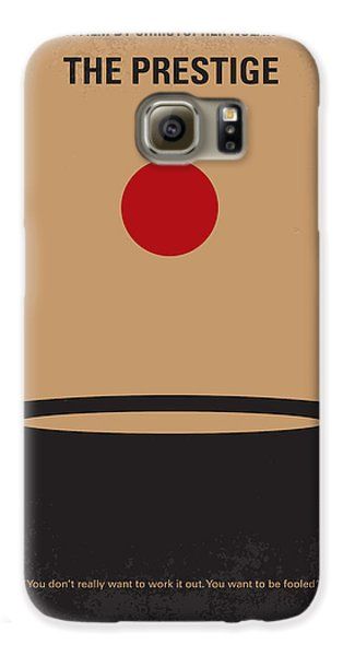 Magician Galaxy S6 Case - No381 My The Prestige Minimal Movie Poster by Chungkong Art