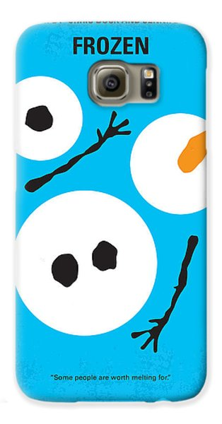 Magician Galaxy S6 Case - No396 My Frozen Minimal Movie Poster by Chungkong Art