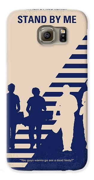 No429 My Stand By Me Minimal Movie Poster Galaxy S6 Case by Chungkong Art