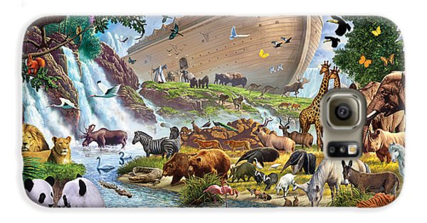 Noahs Ark - The Homecoming Galaxy S6 Case by Steve Crisp