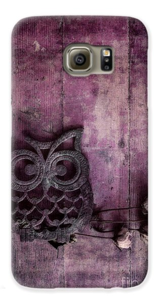 Nocturnal In Pink Galaxy S6 Case by Priska Wettstein