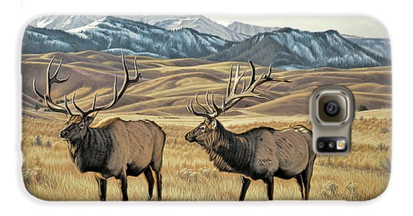 Bull Galaxy S6 Case - North Of Yellowstone by Paul Krapf