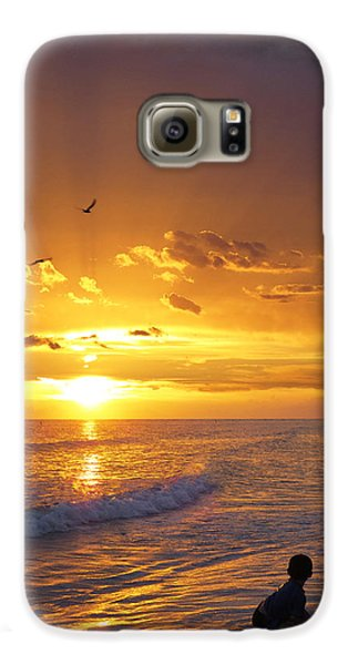 Not Yet - Sunset Art By Sharon Cummings Galaxy S6 Case
