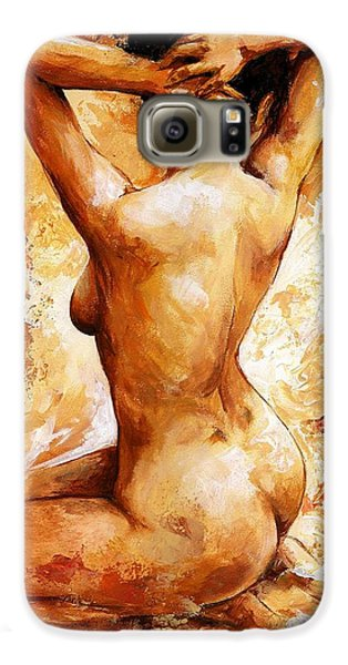 Nude 06 Galaxy S6 Case by Emerico Imre Toth