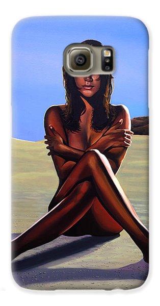 Nudes Galaxy S6 Case - Nude Beach Beauty by Paul Meijering