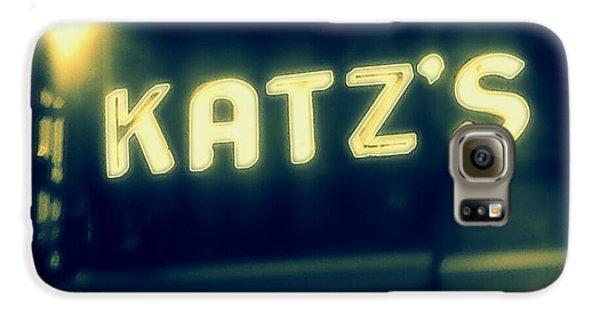 Nyc's Famous Katz's Deli Galaxy S6 Case by Paulo Guimaraes