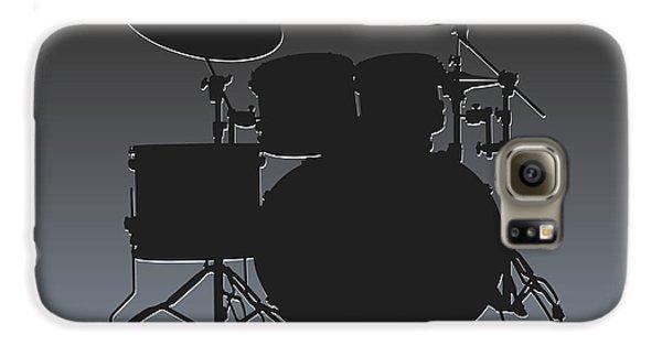 Oakland Raiders Drum Set Galaxy S6 Case by Joe Hamilton