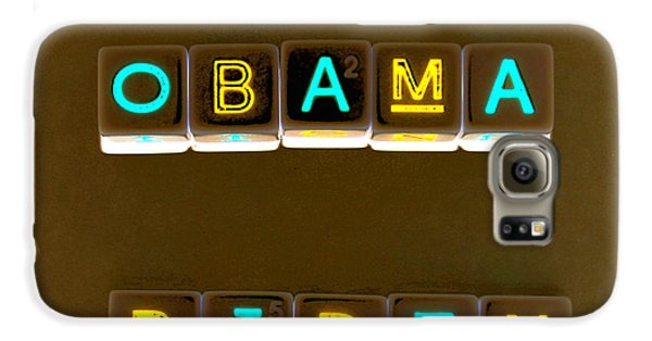 Obama Biden Words. Galaxy S6 Case by Oscar Williams