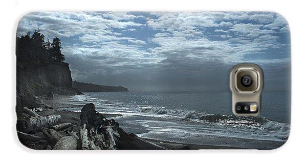 Ocean Beach Pacific Northwest Galaxy S6 Case