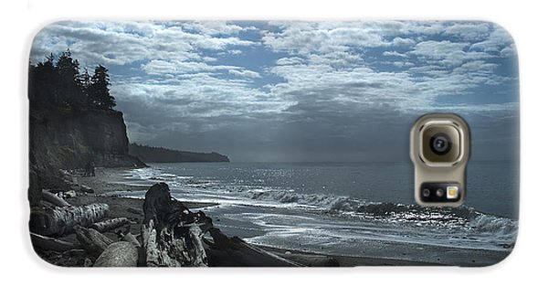 Ocean Beach Pacific Northwest Galaxy S6 Case