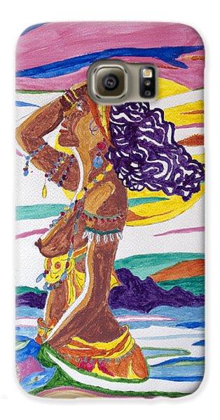 Voodoo Galaxy S6 Case - Oshun by Stormm Bradshaw