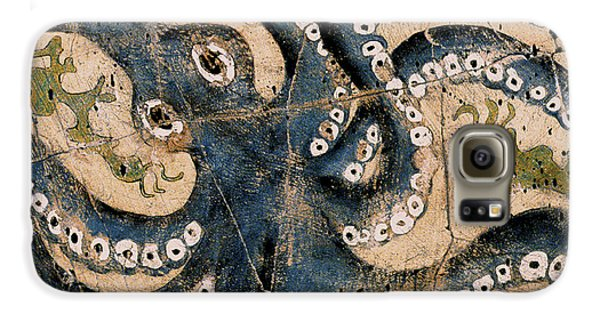 Bogdanoff Galaxy S6 Case - Octopus - Study No. 1 by Steve Bogdanoff