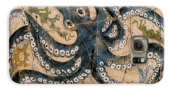 Bogdanoff Galaxy S6 Case - Octopus - Study No. 2 by Steve Bogdanoff