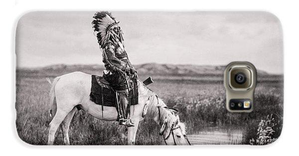 Oglala Indian Man Circa 1905 Galaxy S6 Case