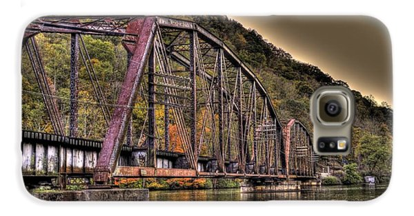 Galaxy S6 Case featuring the photograph Old Bridge Over Lake by Jonny D