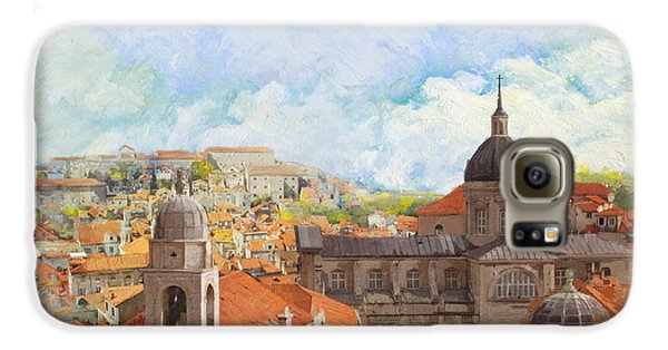 Old City Of Dubrovnik Galaxy S6 Case by Catf