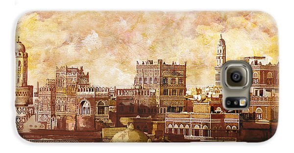Old City Of Sanaa Galaxy S6 Case by Catf