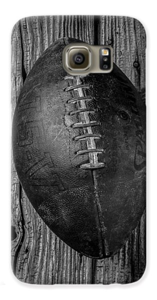 Old Football Galaxy S6 Case by Garry Gay
