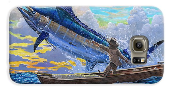 Old Man And The Sea Off00133 Galaxy S6 Case by Carey Chen