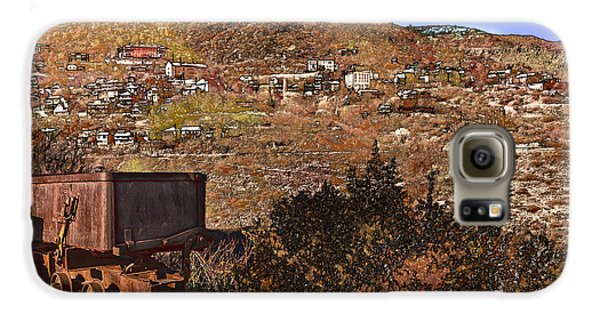 Old Mining Town No.24 Galaxy S6 Case