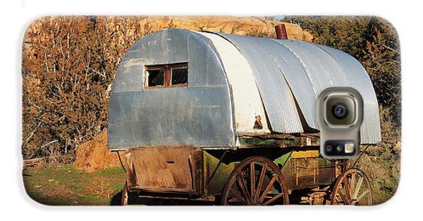 Old Sheepherder's Wagon Galaxy S6 Case