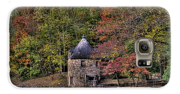 Galaxy S6 Case featuring the photograph Old Stone Tower At The Edge Of The Forest by Jonny D