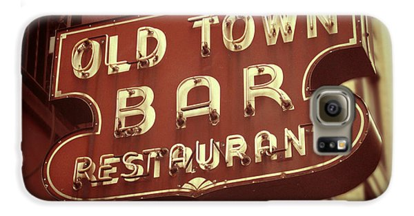 Town Galaxy S6 Case - Old Town Bar - New York by Jim Zahniser
