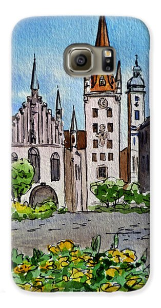 Old Town Hall Munich Germany Galaxy S6 Case