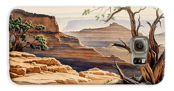 Old Tree At The Canyon Galaxy S6 Case by Paul Krapf