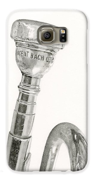 Trumpet Galaxy S6 Case - Old Trumpet by Sarah Batalka