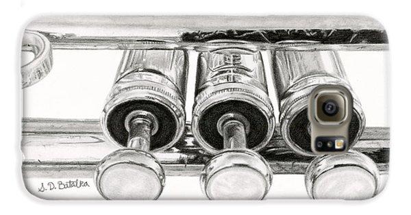 Trumpet Galaxy S6 Case - Old Trumpet Valves by Sarah Batalka