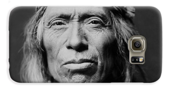Portraits Galaxy S6 Case - Old Zuni Man Circa 1903 by Aged Pixel