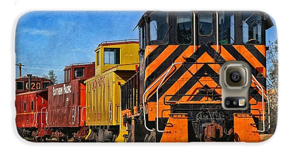 On The Tracks Galaxy S6 Case by Peggy Hughes
