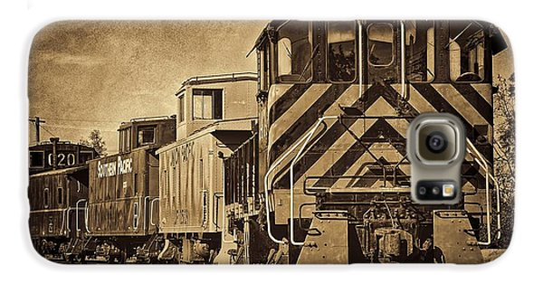 On The Tracks... Take Two. Galaxy S6 Case by Peggy Hughes
