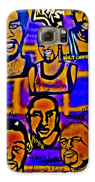 Once A Laker... Galaxy S6 Case by Tony B Conscious