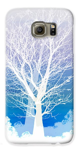 Landscapes Galaxy S6 Case - Once Upon A Moon Lit Night... by Holly Kempe