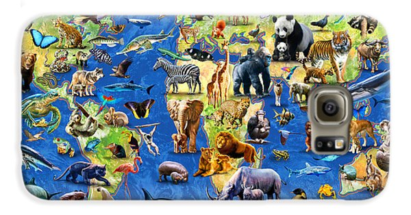 One Hundred Endangered Species Galaxy S6 Case